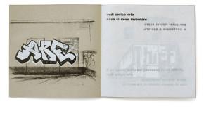 Graffiti-Leporello